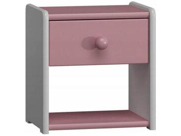 Petite table de nuit pour enfant - Rose