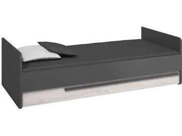 Lit ado TREND 90x200 avec tiroir - Graphite