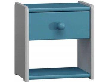 Petite table de nuit pour enfant - Pin,Vanille,Blanc,Vert,Rose,Bleu