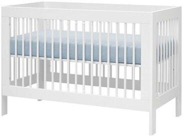 Lit bébé évolutif Harmonie (0-5 ans) - Blanc -