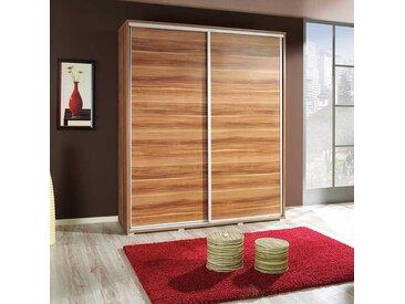 Armoire portes coulissantes largeur 155cm - Hêtre