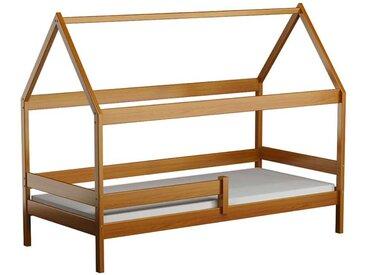 Lit cabane en bois Domek - Aulne - 90 cm x 180 cm
