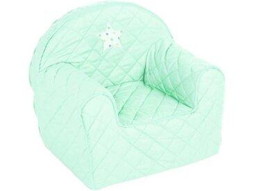 Fauteuil enfant avec étoile Vert petitechambre.fr