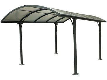 Carport toit arrondi 14,62 m² - HABRITA