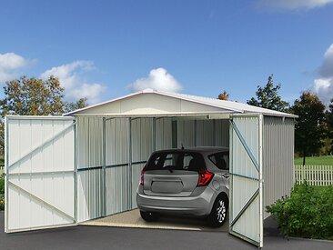 Garage en métal 0,3MM  17 m²