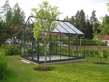 Serre en verre trempée SEKURIT - 7,56 m²