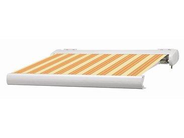 Store coffre Manhattan LED orange et blanc motorisé 4 x 3,5