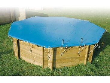 Bâche hiver pour piscine rectangulaire 200 x 350 cm