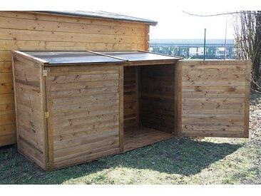 Coffre jardin bois TROCADERO® 2000 L