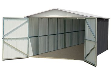 Garage en métal 0,3MM 20,31 m²