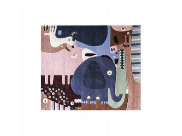 ART Tapis enfant PUZZLE ANIMAUX multicolore Art for Kids