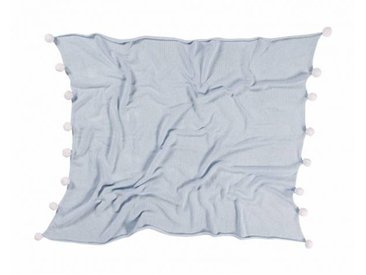 Lorena Canals Couverture Bébé Bubbly Soft Blue - Lorena Canals