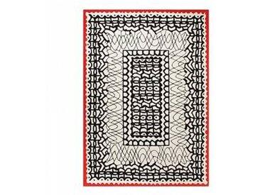Esprit Tapis ORIENTAL noir et blanc Esprit Home