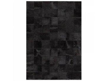 Angelo Tapis en cuir Angelo STARLESS patchwork noir uni