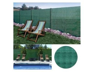 probache Brise vue vert 2 x 10 m 90 gr/m² classique