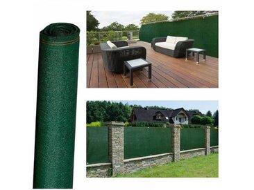 """ProBache """"Brise vue haute densité vert 1 x 10 m 300 gr/m² qualité pro"""""""