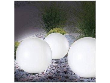 """ProBache """"Lampe boule 30 cm led solaire X2"""""""