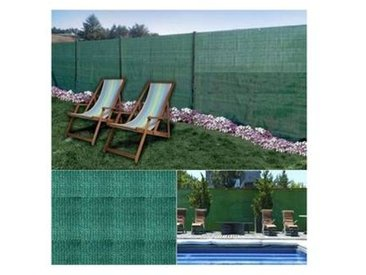 probache Brise vue vert 1,8 x 10 m 90 gr/m² classique