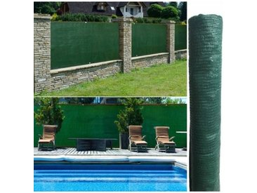 """ProBache """"Brise vue vert 1,2 x 10 m 90 gr/m² classique"""""""