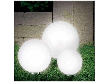 """ProBache """"Lampe boule 20 cm solaire design"""""""