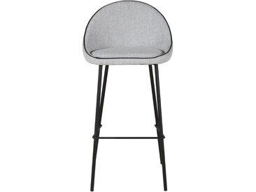 Chaise de bar en tissu Maya - ZAGO