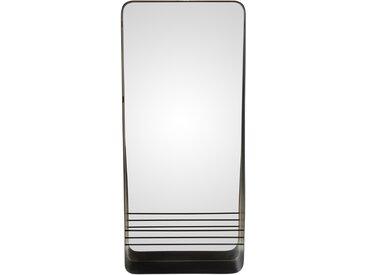 Miroir métal époxy noir ELLIOTT - ZAGO