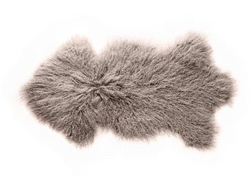 Peau de mouton du Tibet 80 x 60 cm laine frisée - ZAGO