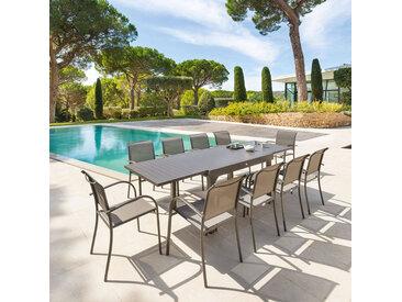 Table de jardin extensible Piazza Tonka