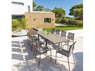 Table de jardin extensible Piazza Noisette & Tonka