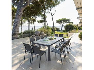 Table de jardin extensible Paradize Graphite