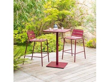 Table haute de jardin Phuket Bordeaux