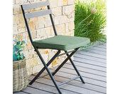 Galette de chaise 4 points Korai Vert olive