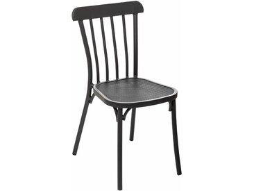Chaise de jardin empilable Ellipsa Graphite