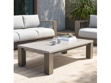 Table basse de jardin rectangulaire Héraklion Tonka