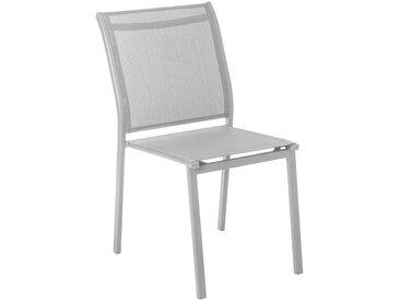Chaise de jardin empilable Essentia Galet & Silver