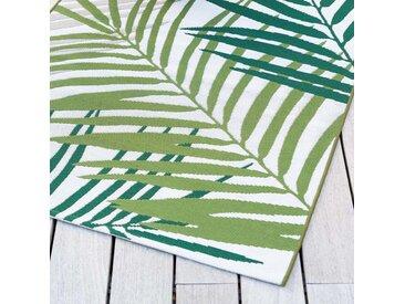 Tapis d'intérieur et d'extérieur motif Tropical