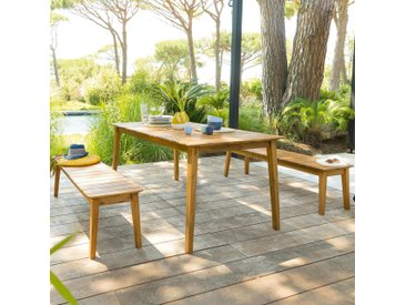Table de jardin rectangulaire Tiwi Acacia