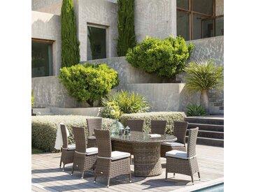 Table de jardin ovale Mooréa Naturae