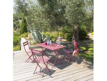Table de jardin pliante rectangulaire Greensboro Marsala