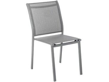 Chaise de jardin empilable Essentia Ardoise
