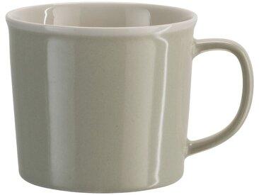 Lot de 2 mugs en porcelaine beige roucas 35cl (prix unitaire : 3.0 euros) - alinea