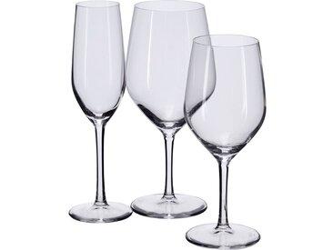 Lot de 6 verre à pied en cristallin 37cl (prix unitaire : 5.0 euros) - alinea