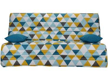 Housse pour clic-clac 130cm motif triangles Alinéa