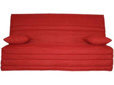 Housse pour clic clac 130cm rouge Alinéa