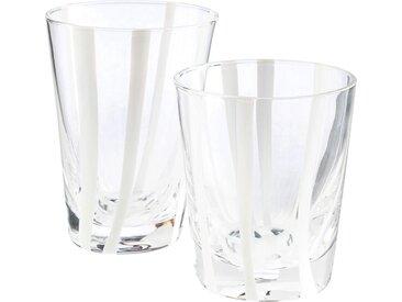 Lot de 6 verre à eau - blanc d8xh11cm (prix unitaire : 5.0 euros) - alinea
