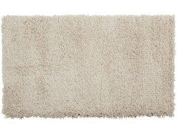 Descente de lit à poils longs blanc écru 60x110cm - alinea