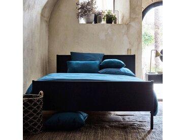 Coussin en coton bleu figuerolles 40x40cm Alinéa