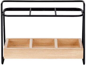 Range couverts en métal et bois - alinea