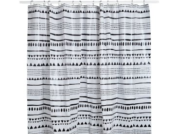 Rideau de douche à motifs aztèques Alinéa
