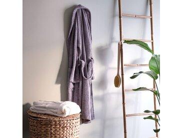 Peignoir en coton M blanc capelan - alinea